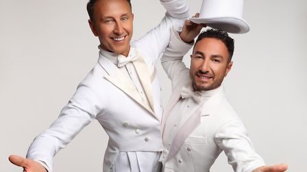 Ian Waite & Vincent Simone, The Ballroom Boys - Act Two can be seen at the Gordon Craig Theatre in S