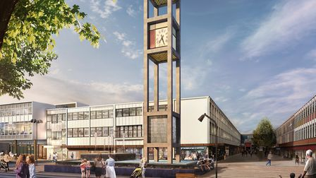 The new fund will see up to 25 million awarded to Stevenage Borough Council for the town centre. Pic