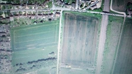 Central Bedfordshire Council approved proposals to build 150 new homes on farm land in Langford. Pic