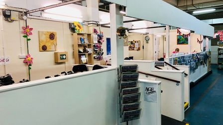 Age Concern Stevenage has moved into the Indoor Market. Picture: Stevenage Borough Council