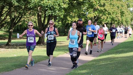 Stevenage 10k 2019: Almost 500 runners completed the course. Picture: Stuart Driver