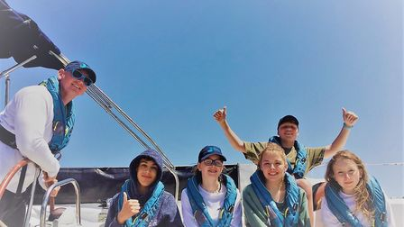 Young people are invited back every summer until they are 24. Picture: Ellen MacArthur Trust