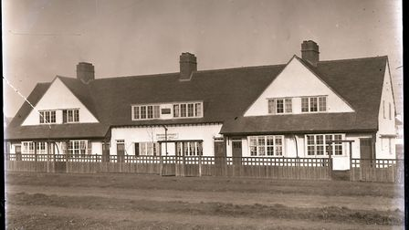 Pixmore Way workers housing (1966). Picture: Letchworth Garden City Heritage Foundation