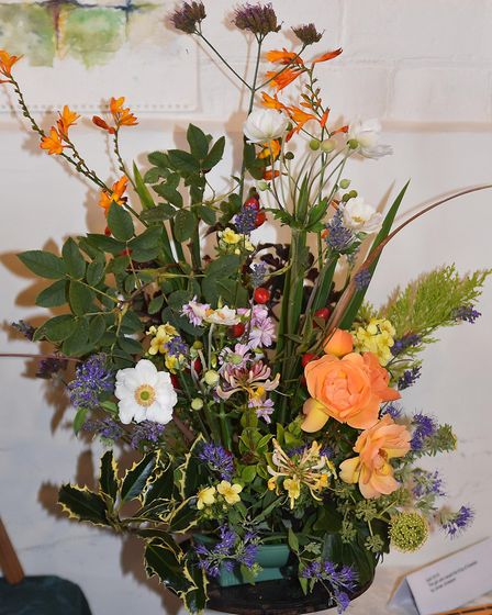 The community flower festival raised over £400 for the church and Dementia UK. Picture: Alan Millard