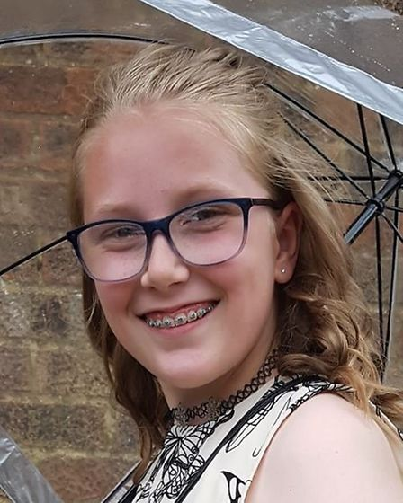 Chloe Miles, 11, could see her kitchen design brought to life. Picture courtesy of WPR.
