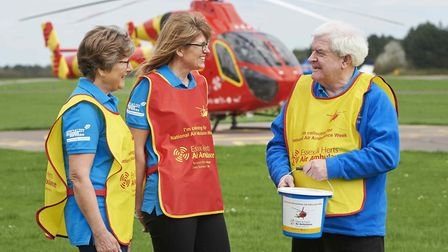 Essex & Herts Air Ambulance Trust estimate they raised £20,000 in donations. Picture: Clare Banks