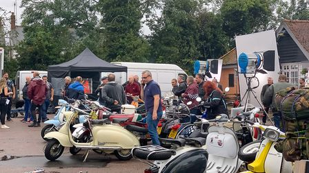 The filming of Quadrophenia-inspired film 'To Be Someone' at the Royal Oak, Stevenage. Picture: DANN