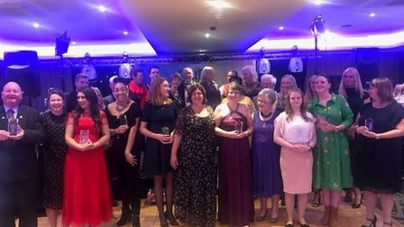 The winners of the Pride of Stevenage Awards. Picture: Courtesy of Stevenage Borough Council.