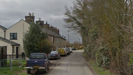 Cars parked outside the twelve cottages on Holwell Road will be removed after the introduction of do