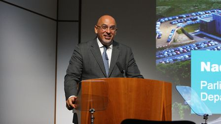 Mr. Zahawi made the formal announcement at the Hertfordshire Local Enterprise Partnership's annual c