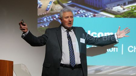 """LEP Chairman Mark Bretton thanked the government for helping """"bring out the potential of Hertfordshi"""
