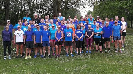 World Mental Health Day: Fairlands Valley Spartans members have been wearing blue this week to raise