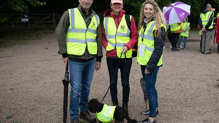 Volunteers at this year's Standalone 10k. Picture: Ollie Saville