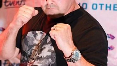 George Joyce raised £1,500 for Cancer Research UK by taking part in a charity boxing match. Picture:
