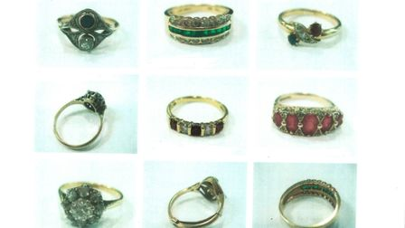 Sentimental items of jewellery were burgled from the home of an elderly couple in Hitchin. Picture: