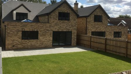 Lesley and Page services specialise in building luxurious homes in rural locations, Picture: Michael