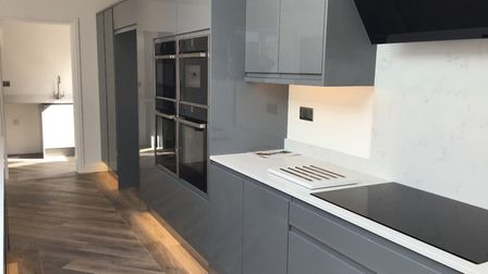 The kitchens are well-equipped with two ovens, induction hob and a built-in microwave.Picture: Micha