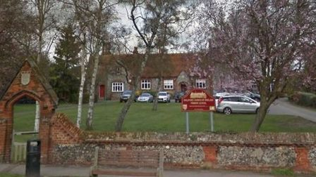 The decision was made to close Ickleford Primary School until Thursday due to a lack of heating. Pic