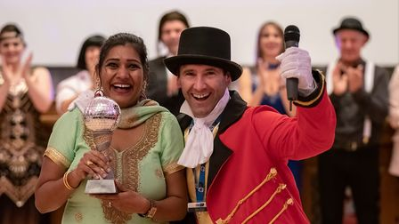 Reena Dixon from Stevenage impressed the judges with her Bollywood style dance at the Garden House H