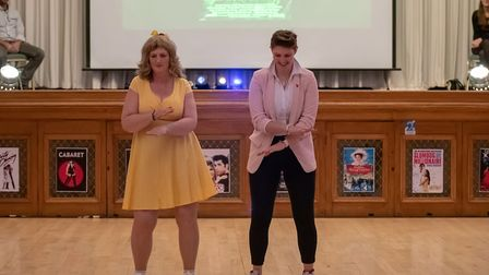 Garden House Hospice Care's Strictly Come Movies 2019. Picture: Martin Wootton
