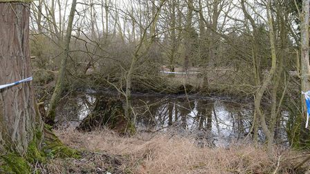 William Taylor's body was found in the River Hiz in February this year. Picture: Herts police