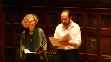 Dame Emma Kirkby and Llewelyn Morgan in Arms and A Man