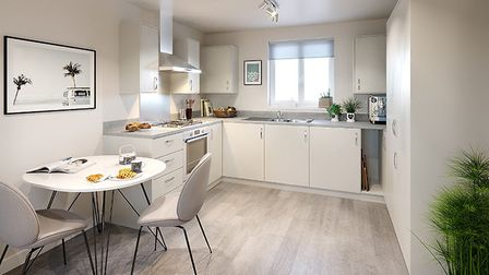 The properties have integrated appliances, and flooring fitted throughout. Picture: settle.