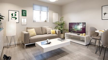 The one-bedroom apartments and two-bedroom houses are bright, spacious and modern. Picture: settle.