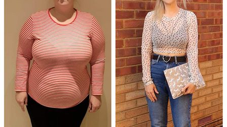 35-year-old Danielle ODonoghue lost over 8 stone in a life-changing transformation. Picture: Tracy C