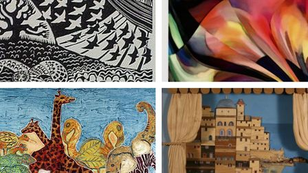 Schools across Hertfordshire are to receive 614 donated pieces of art from the county council. Pictu