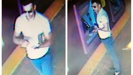 Police would like to speak to the man pictured as they believe he may have information that could as