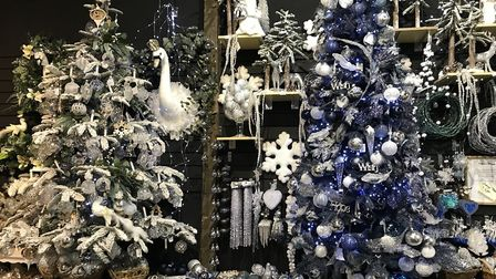 The Magic of Christmas has a huge selection of real and artificial trees, lights, decorations, table