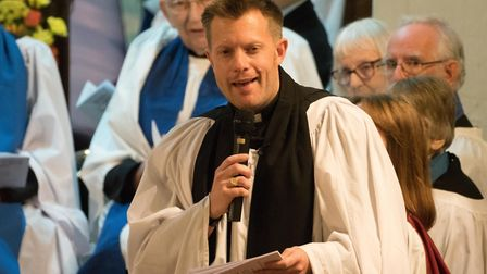 Rev'd Christopher Bunce joins St. Mary's as vicar and team rector. Picture: Mark Gimson