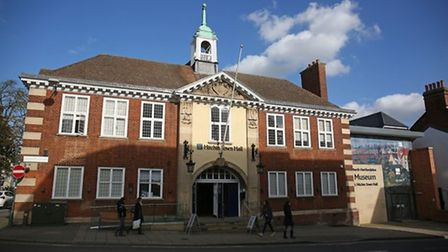 Hitchin Town Hall and North Hertfordshire museum. Picture: DANNY LOO