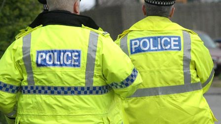 Police searched for two men in Stevenage St Nicholas park on Tuesday