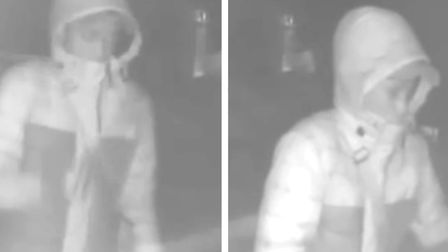 Police have released CCTV images of a person they would like to speak to in connection with a burgla