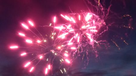 Hitchin's annual fireworks display will take place at The Priory on Sunday, November 3. Picture: Ala