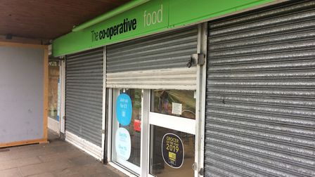 The Co-op branch on Filey Close has been closed for over a month after flood damage. Picture: Jacob