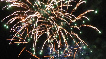 Stevenage's 2019 fireworks show will take place at Fairlands Valley Park on Tuesday, November 5. Pic