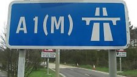 A crash involving multiple cars has brought the A1(M) to a stand still between Junction 7 for Steven
