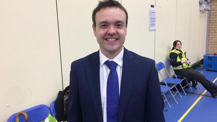 Conservative candidate Stephen McPartland retains his seat in Stevenage. Picture: Jacob Savill