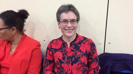 Labour candidate Jill Borcherds was proud of her campaign despite a 3.7 per cent swing in favour of