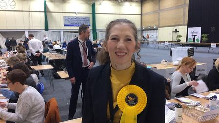 Liberal Democrat candidate Lisa Nash doubled her party's vote count in Stevenage. Picture: Jacob Sav