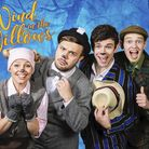 The cast of Letchworth Broadway Theatre's Christmas production of The Wind in the Willows
