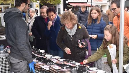 Hitchin Food and Wine Festival returned for its 11th year on Saturday, November 16. Picture: Alan Mi