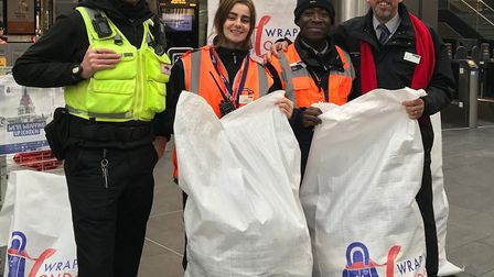 Govia Thameslink Railway is searching for a passenger who literally took the coat off his own back a