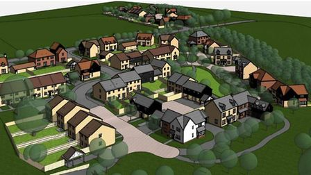 Plans for 55 homes in Linton were approved by South Cambridgeshire District Council. Picture: CONTRI