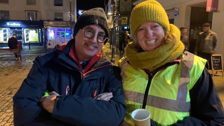 Rotary Club of Hitchin Tilehouse got a cold's night kip on Saturday evening - and were given a rude