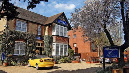 There is a proposal to turn the Abbington Hotel on Stevenage's Hitchin Road into a residential rehab
