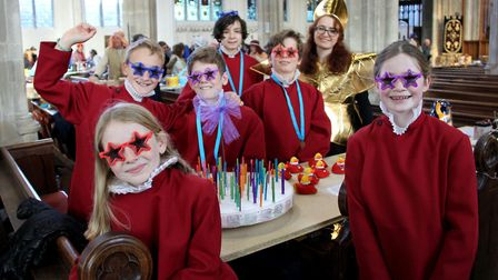 The Christmas Fair at St Mary's Church in Saffron Walden. Picture: MARTIN HUGALL